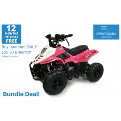 BUNDLE DEAL! ORION MIKRO 70cc KIDS QUAD - PINK