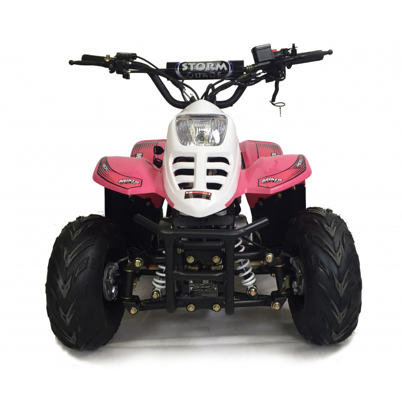 VRX70 Kids Quad Bike With Remote Safety Cut Off - PINK