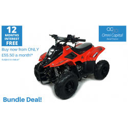 BUNDLE DEAL! ORION MIKRO 70cc KIDS QUAD - RED