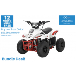 BUNDLE DEAL! ORION MIKRO 70cc KIDS QUAD - WHITE