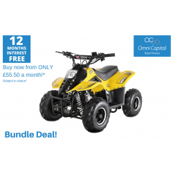 BUNDLE DEAL! ORION MIKRO 70cc KIDS QUAD - YELLOW
