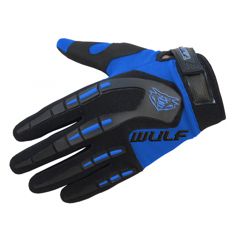 Wulfsport Kids Attack Gloves - Blue