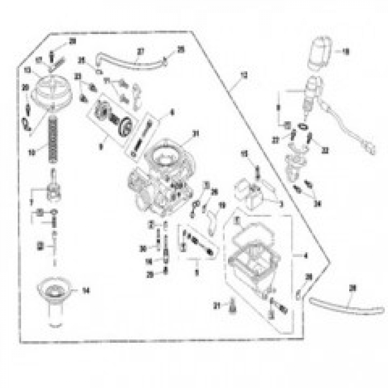 Carburettor Assembly