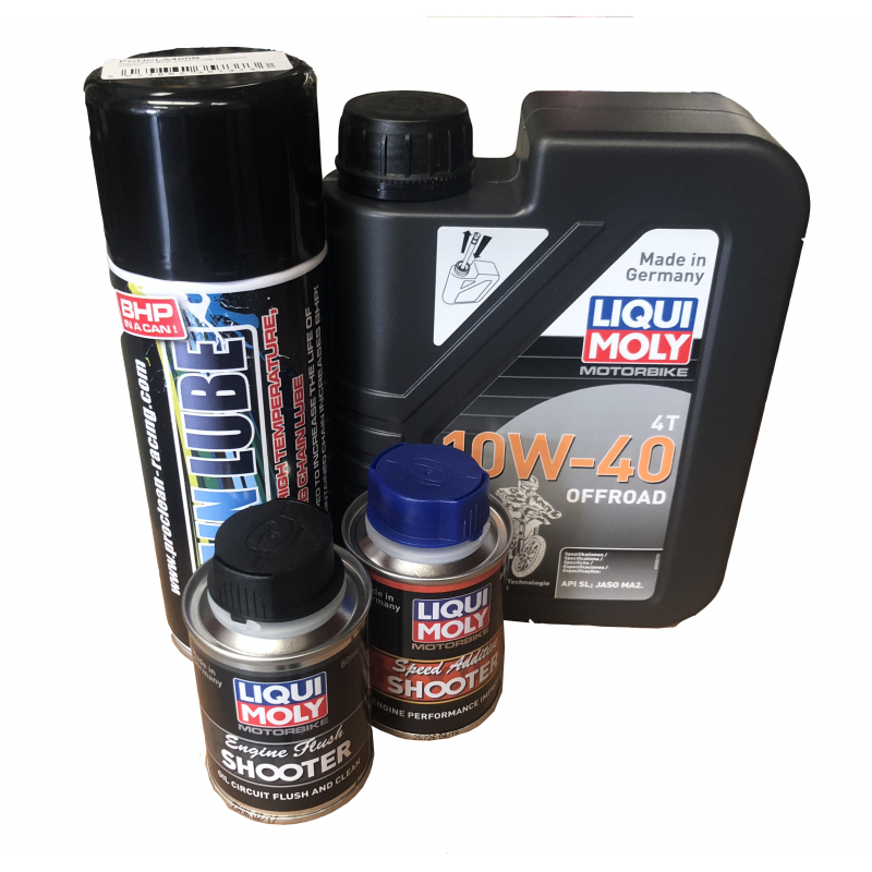 1L Oil Servicing Pack