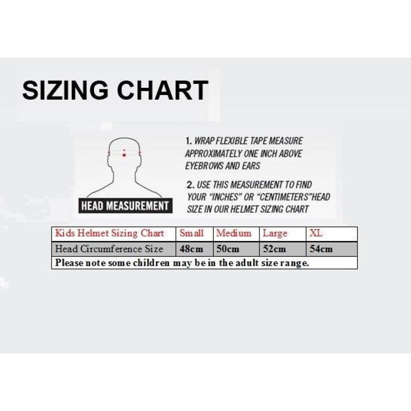 Children's Sizing Chart