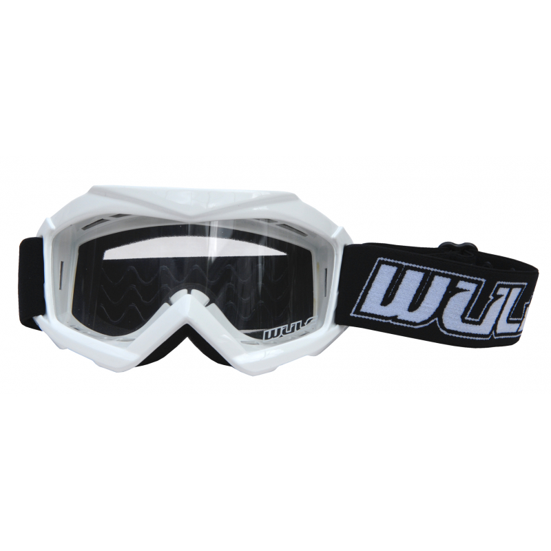 Wulfsport Cub Tech Goggles for MX Enduro - White
