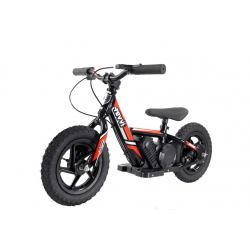 Kids 100w Electric Balance Bike - Revvi Twelve - Red