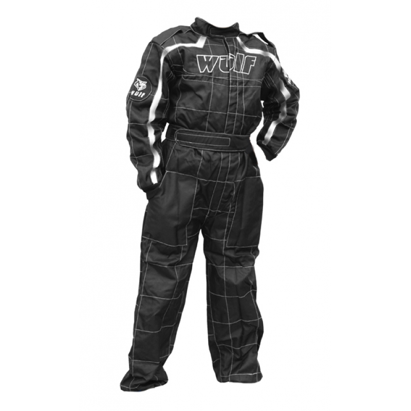 Wulfsport Cub Racing Suit - Black