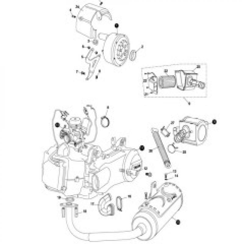 Engine / Air Filter / Muffler