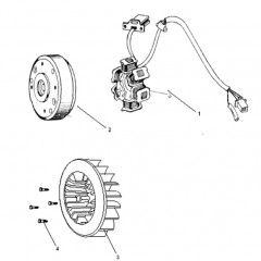 Engine Electrical - Stator