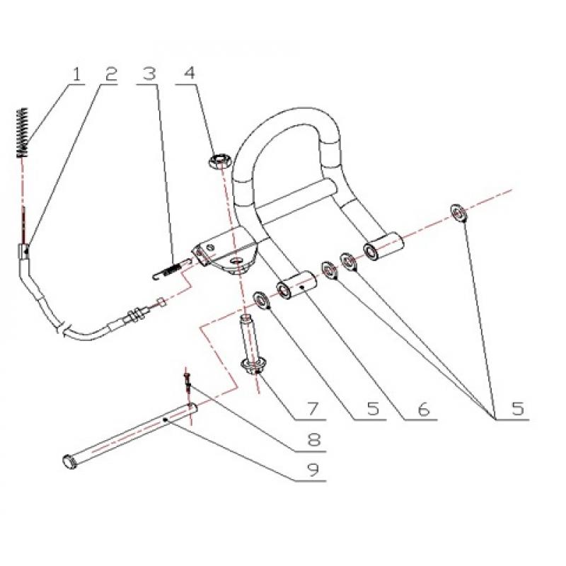 Foot Pedal Parts