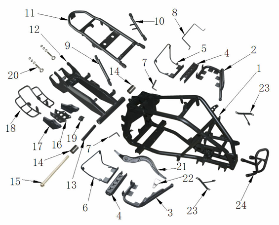 Frame Spare Parts