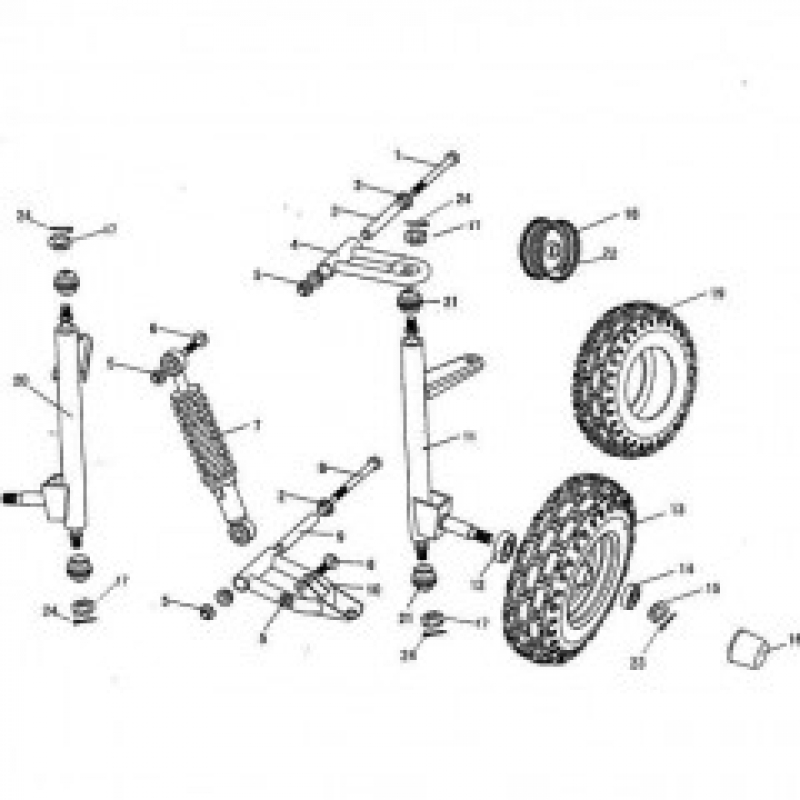Front Suspension Parts