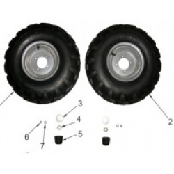 Front Wheel & Tyre