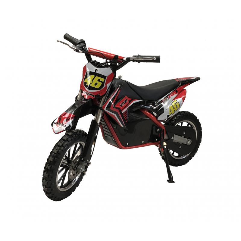 Fully Assembled 500W Kids Mini Dirtbike - 2019 Model - Red