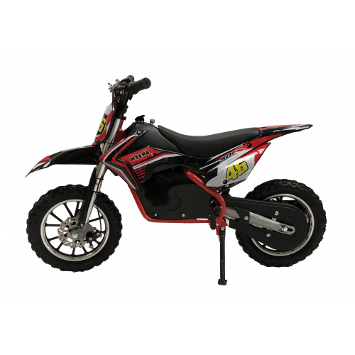 Fully Assembled 500W Kids Mini Dirtbike - 2019 Model - Red