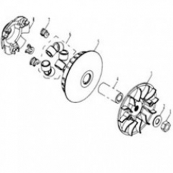 GEARBOX ASS'Y (PULLEY)