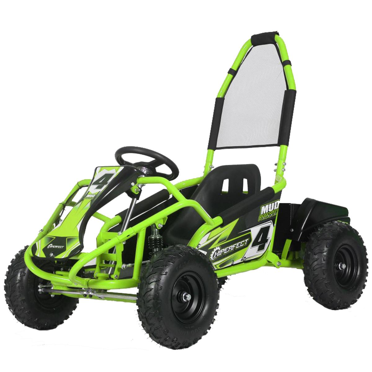 Green Mud Monster 1000w 20ah 48v Kids Electric Go Kart