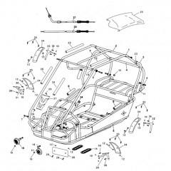 GT80 Frame Parts