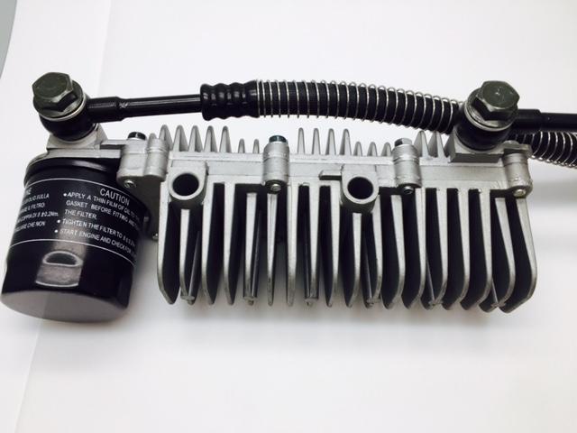 GTS150 MY17+MY18 External Oil Cooler Assy