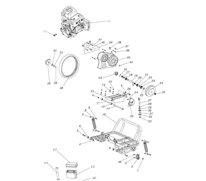 plastic cover for drive belt hammerhead mudhead