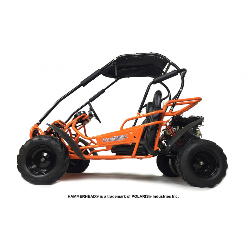 Hammerhead Mudhead™ Reverse 208R Kids Off Road Buggy - Orange