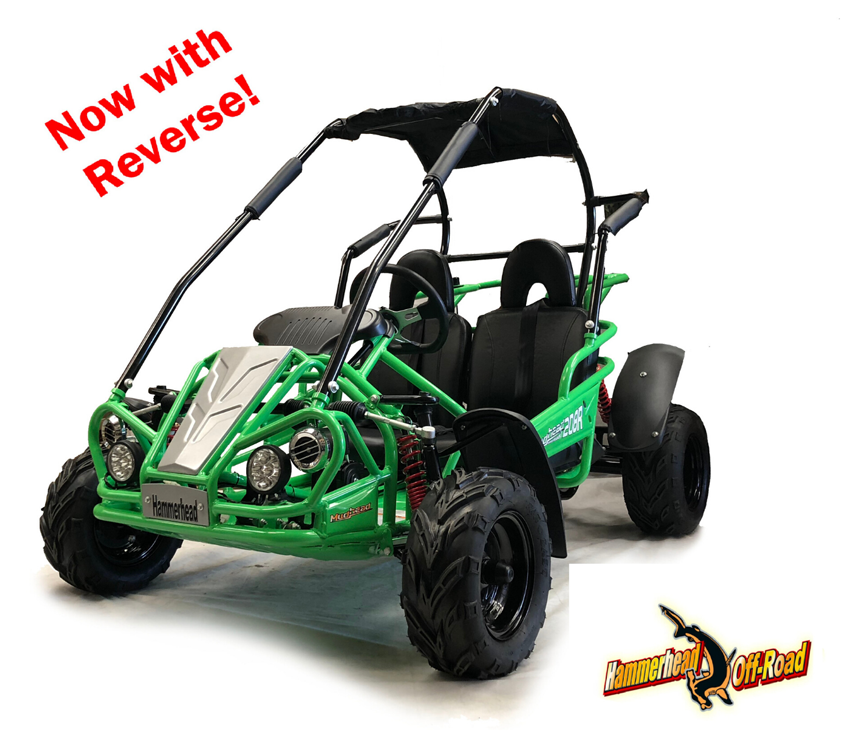 Hammerhead Mudhead™ Reverse 208R Kids Off Road Buggy - Green