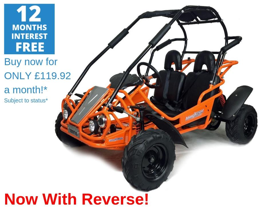 Hammerhead Mudhead™ Reverse 208R Kids Off Road Buggy - Orange