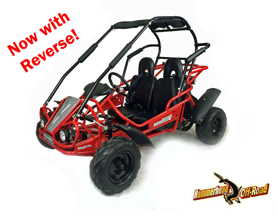 Hammerhead Mudhead™ Reverse 208R Kids Off Road Buggy - Red