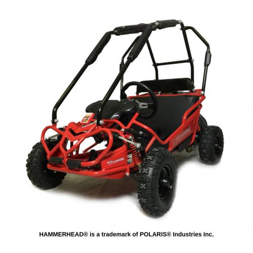 Hammerhead™ Torpedo Kids Buggy - Red