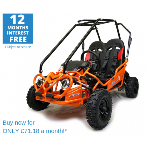 Hammerhead™ Torpedo 'SE' Kids Off Road Buggy - Orange