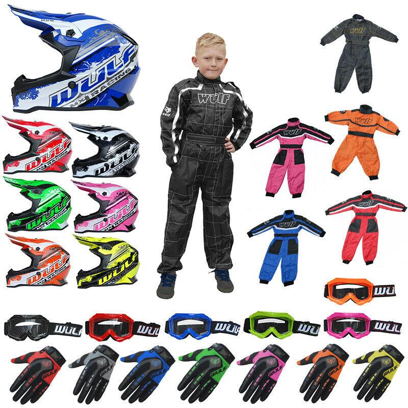 Kids & Adults Motocross MX Helmets, Clothing & Safety Gear