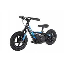 Kids 100w Electric Balance Bike - Revvi Twelve - Blue