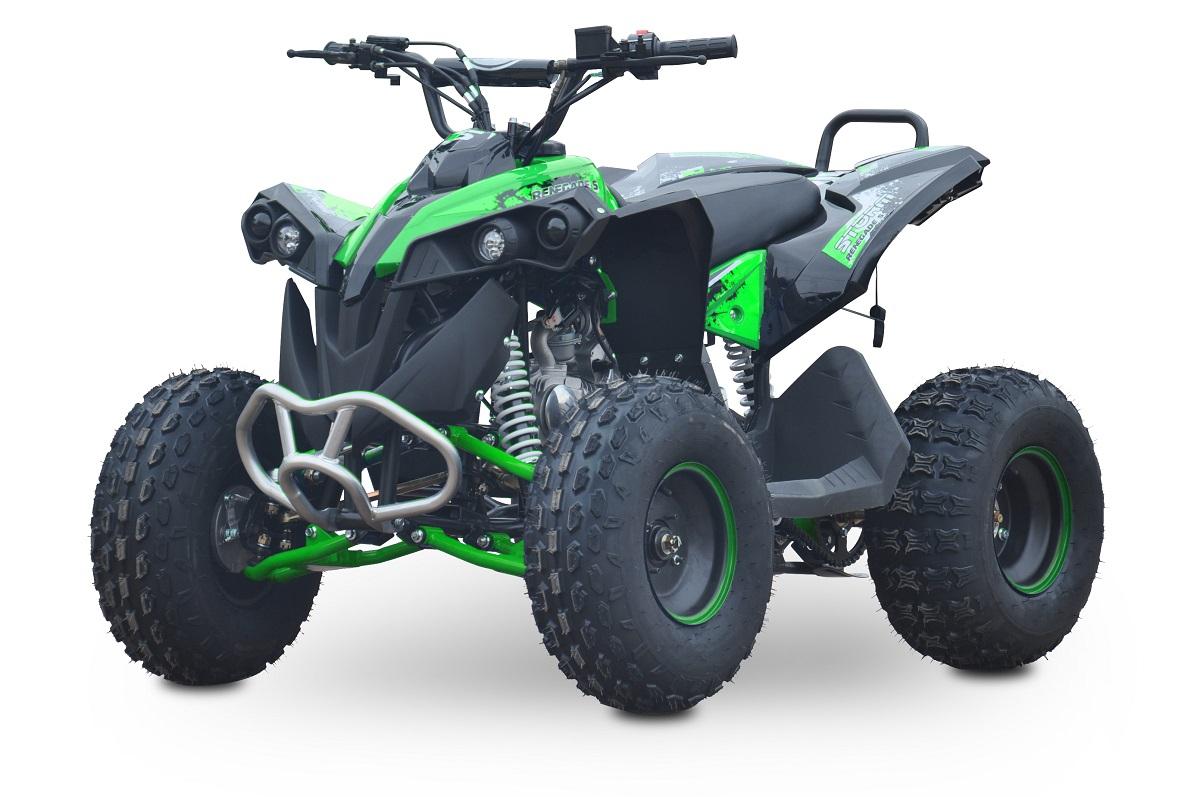 Kids 125cc Renegade Fully Auto Quad Bike - Green