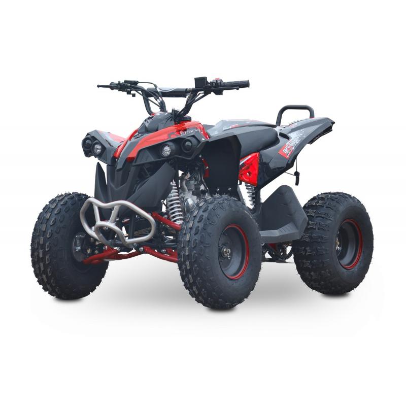 Kids 125cc Renegade Fully Auto Quad Bike - Red