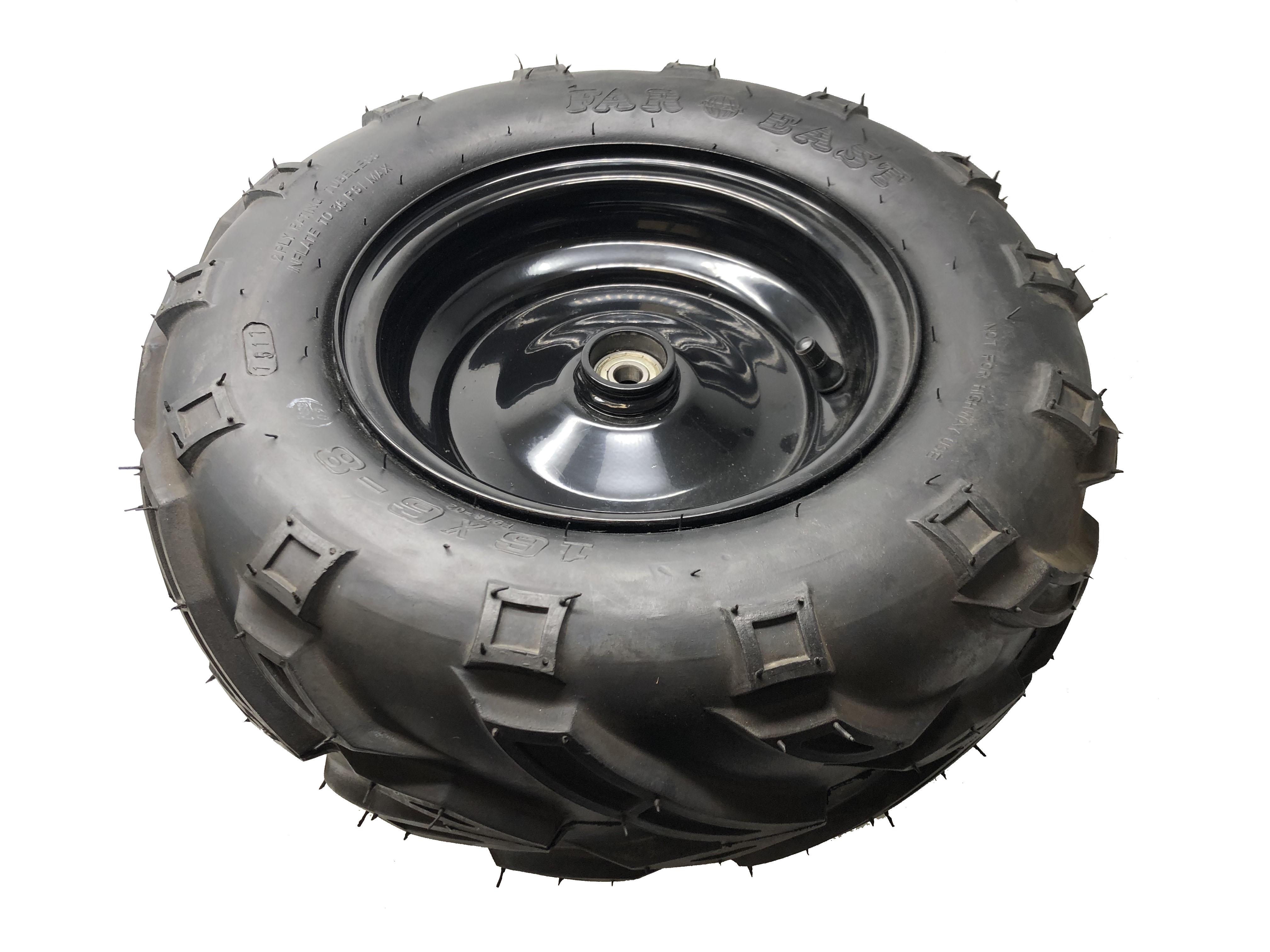Mudhead - Front Wheel Rim & Tyre Right