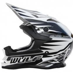NEW 2018 Wulfsport Cub Advance Helmet - Black