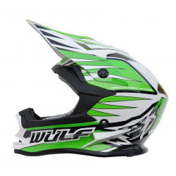 NEW 2018 Wulfsport Cub Advance Helmet - Green