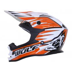 NEW 2018 Wulfsport Cub Advance Helmet - Orange