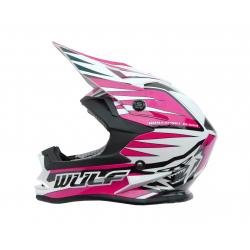 NEW 2018 Wulfsport Cub Advance Helmet - Pink