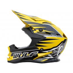 NEW 2018 Wulfsport Cub Advance Helmet - Yellow