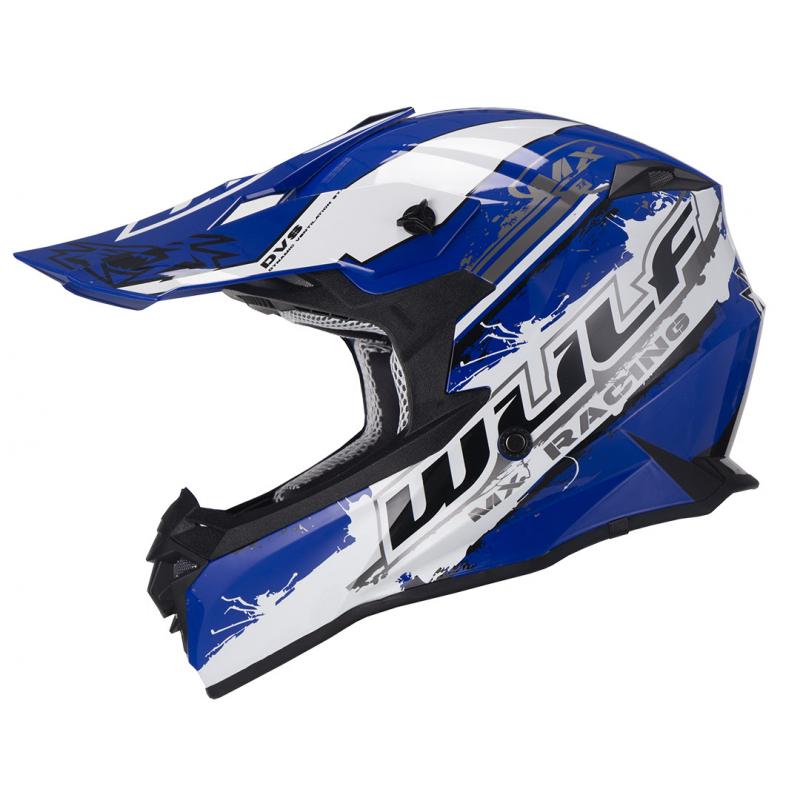 New 2021 Wulfsport Adults Off Road Pro Helmet - Blue