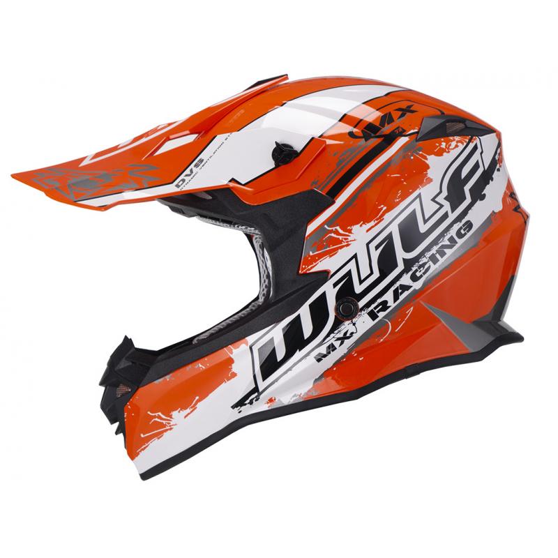 New 2021 Wulfsport Adults Off Road Pro Helmet - Orange