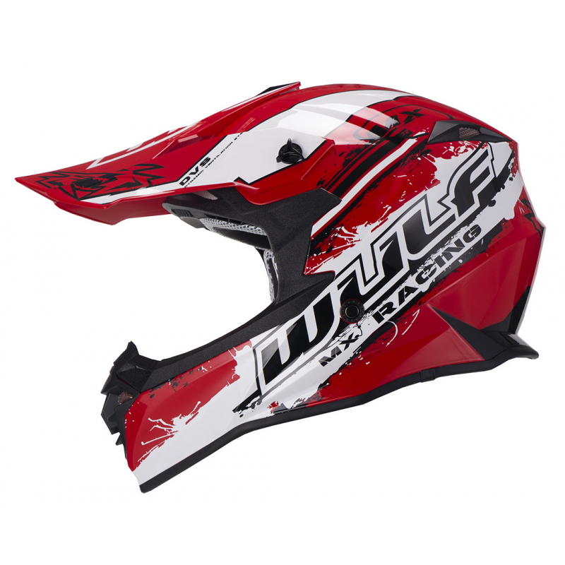 New 2021 Wulfsport Adults Off Road Pro Helmet - Red