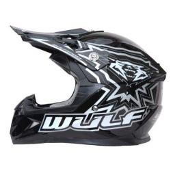 New Wulfsport Cub Flite-Xtra Helmet - Black - Clearance Sale!