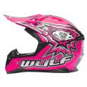 New Wulfsport Cub Flite-Xtra Helmet - Pink