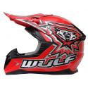 New Wulfsport Cub Flite-Xtra Helmet - Red