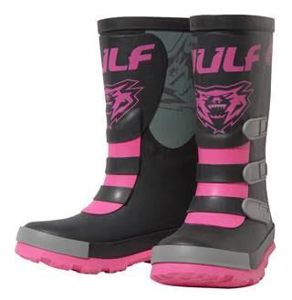 New Wulfsport Kids Mud stomper Boots - Pink