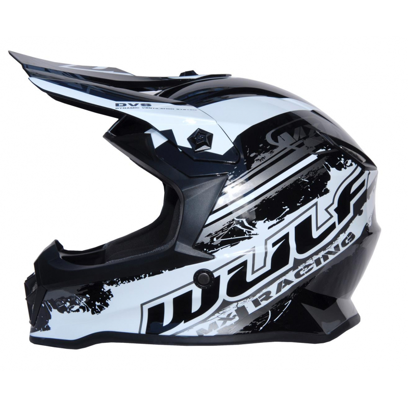 New 2020 Wulfsport Kids Off Road Pro Helmet - Black