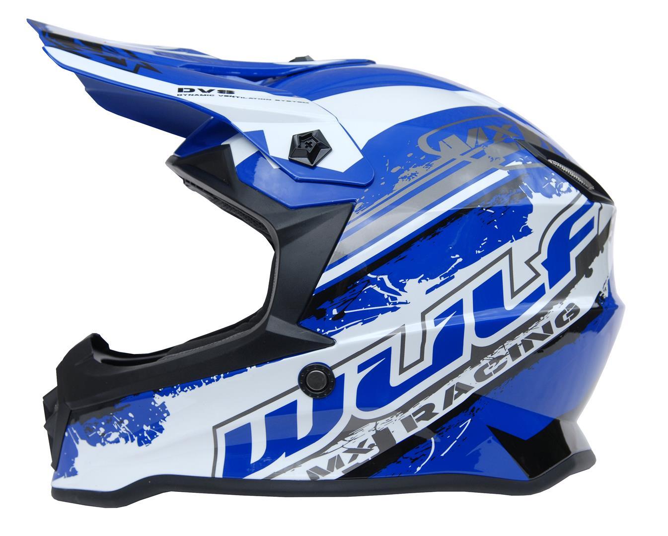 New 2020 Wulfsport Kids Off Road Pro Helmet - Blue